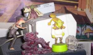 Yoda and Jar Jar